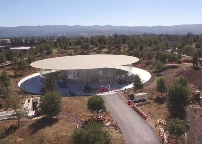 Apple Park Teatro Steve Jobs