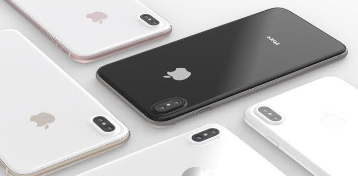 Colores disponibles iPhone 8