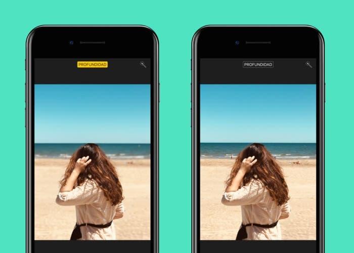 Eliminar el desenfoque en fotos con Modo Retrato