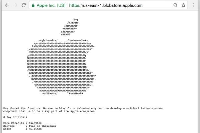 oferta trabajo de Apple