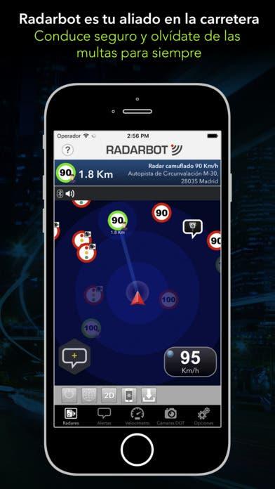 Radarbot, ¡y olvídate de los radares!
