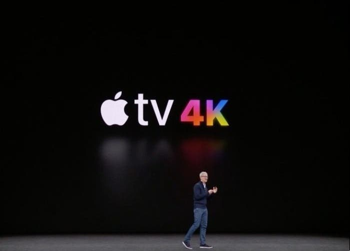 Apple televisión 4K