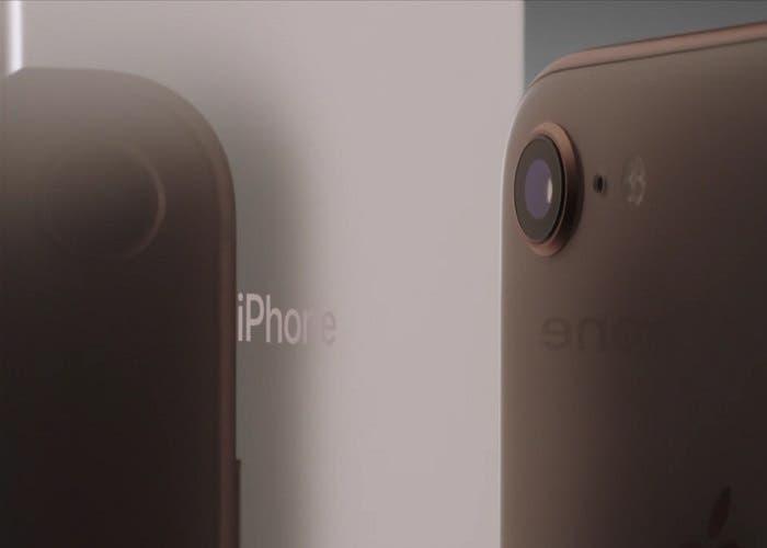Concepto iPhone SE basado en iPhone X