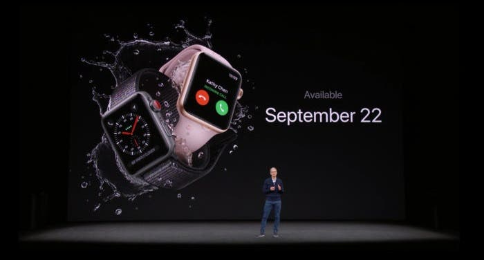 Disponibilidad Apple Watch Series 3