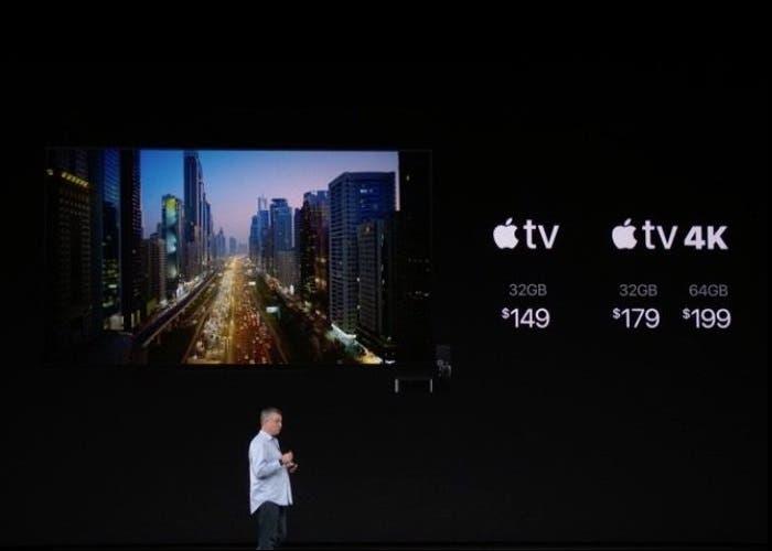 Precio Apple TV 4K