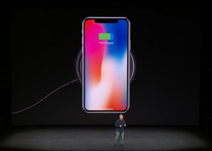 iPhone X charge wireless