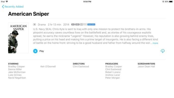 contenido 4K en iTunes