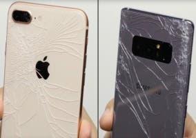 iphone 8 cristal roto