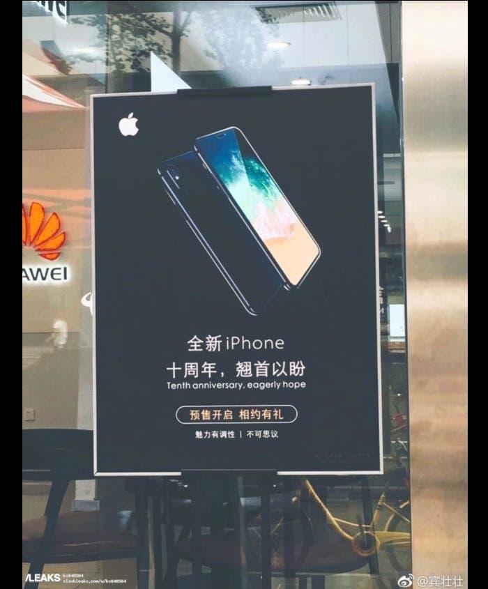 publicidad no oficial iPhone 8