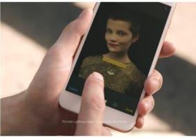 Luz retrato iPhone 8