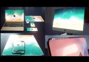 iPad, iMac y MacBook sin biseles