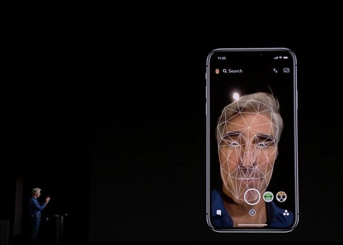 iPhone X Face ID y Animojis