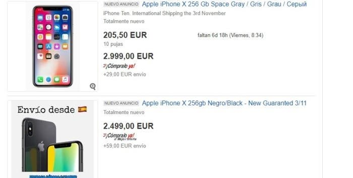 iPhone X reventa