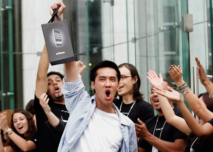 los jóvenes prefieren los iPhone