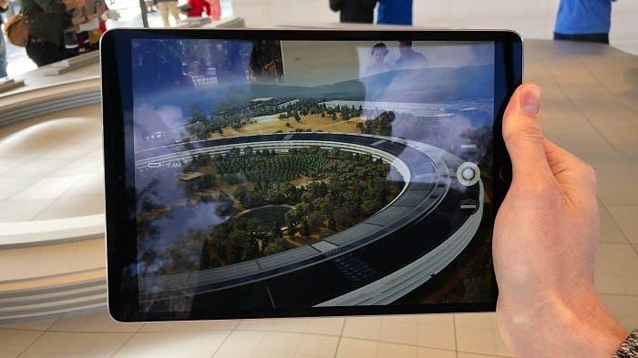 apple park video realidad aumentada