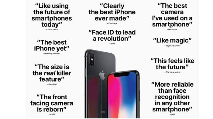 iPhone X comentarios