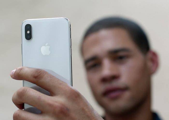 iPhone X selfies