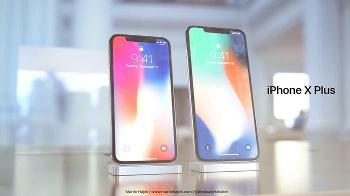 iphone x pantalla render