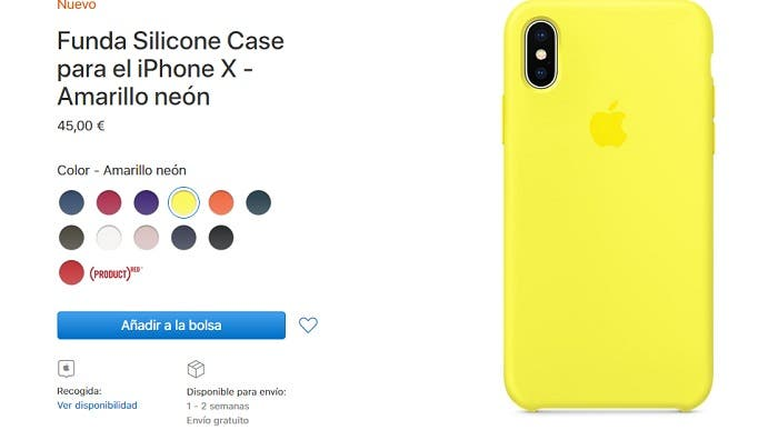 Nuevas fundas para el iPhone X
