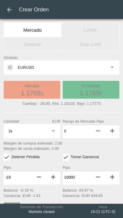Opera con divisas y sin riesgos gracias a FxPro