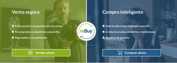ReBuy comprar iPhone reacondicionado con garantias