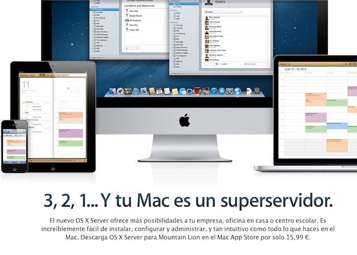 3, 2, 1.. Y tu Mac es un superservidor