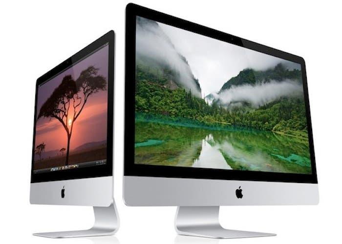 Nueva gama iMac presentada en 2012
