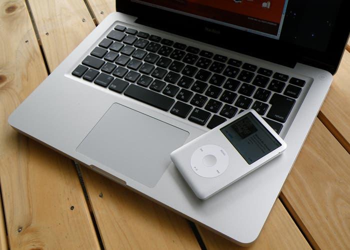 Fotografía del iPod classic del año 2008