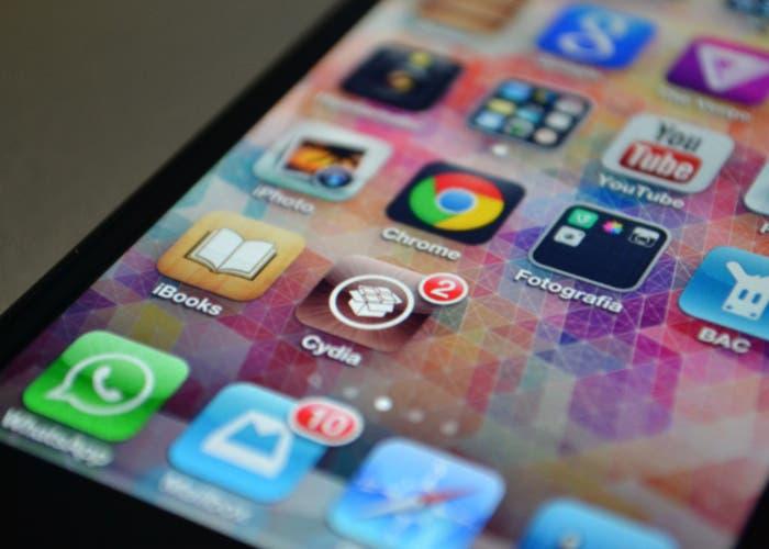Aplicación Cydia en el iPhone