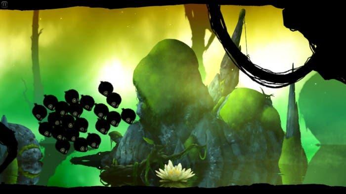 Captura de pantalla de Badland con clones