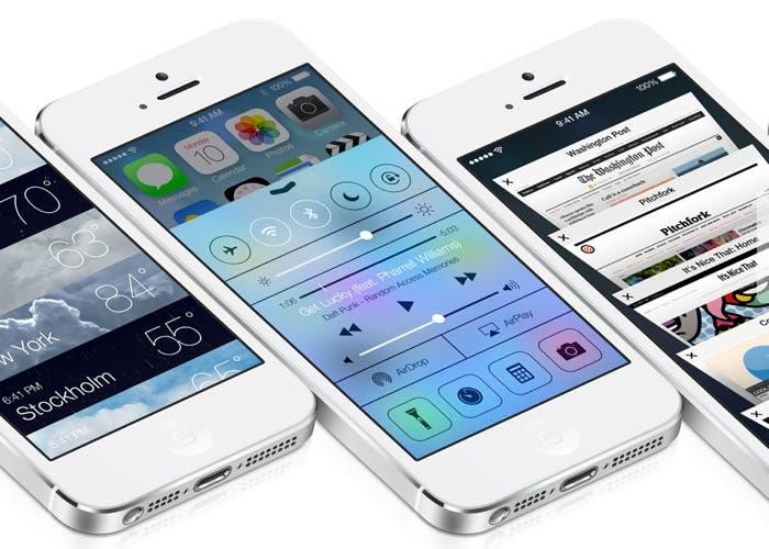 Control Center en iOS 7