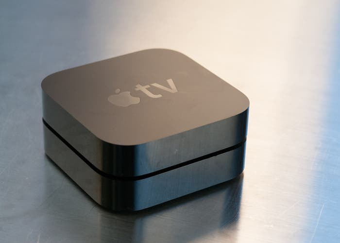 Imagen general de un Apple TV