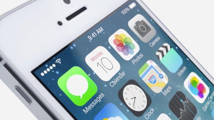 Iconos en iOS 7