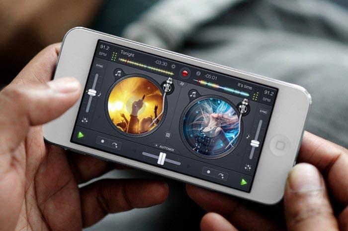 djay 2 funcionando en el iPhone