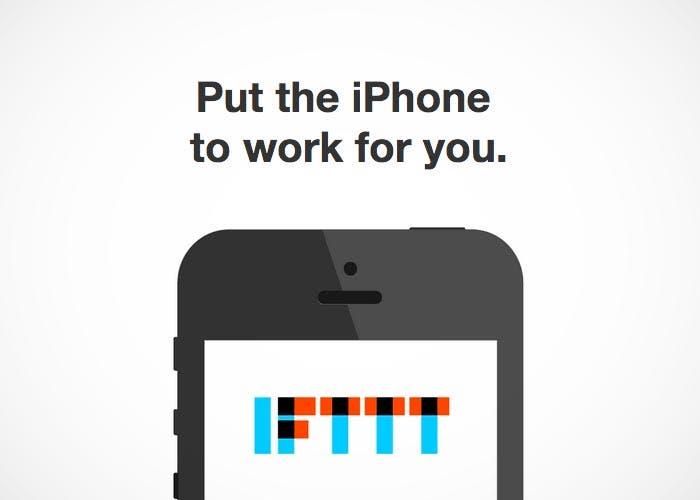 Aplicación de IFTTT