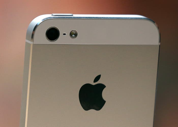 iPhone 5, parte trasera