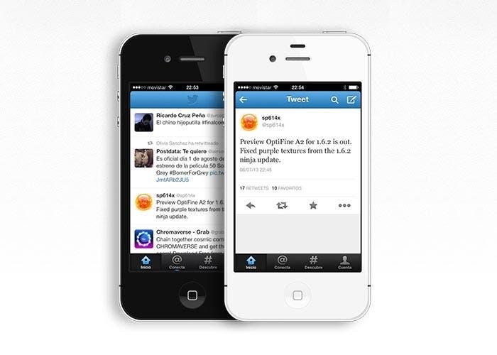 Nueva actualización de Twitter para iOS