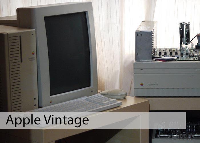 Apple Vintage: Apple Portrait Display