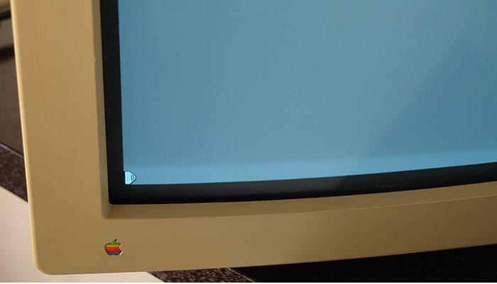 Fotografía de la pantalla del Apple Portrait Display