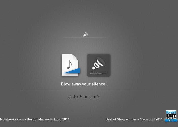Aplicación de Boom for Mac
