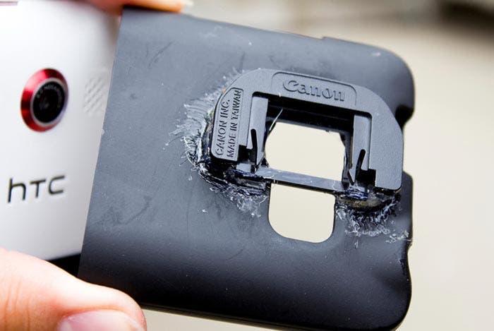 Funda de smartphone para cámara réflex
