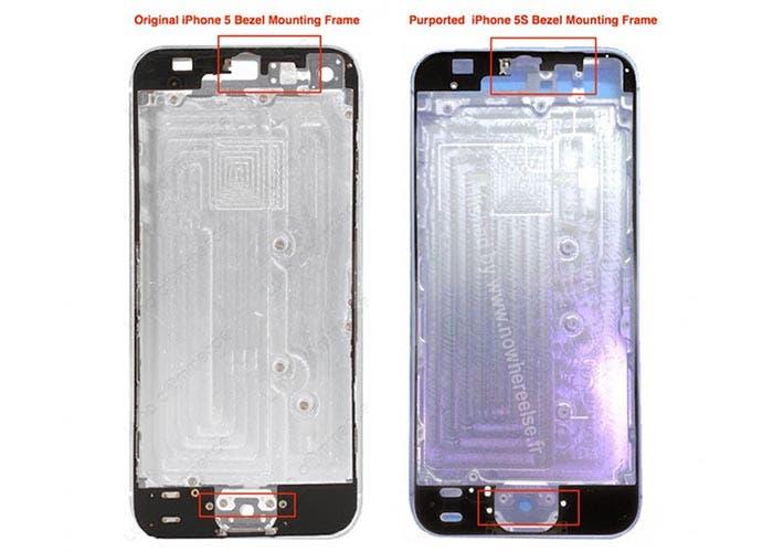 Cuerpo del iPhone 5S