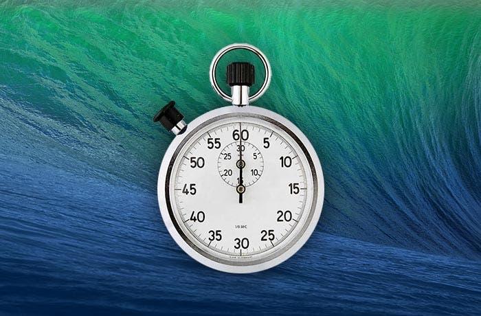 Cronómetro en OS X