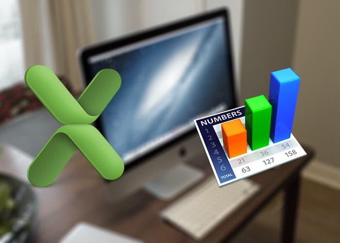 Excel y Numbers para Mac