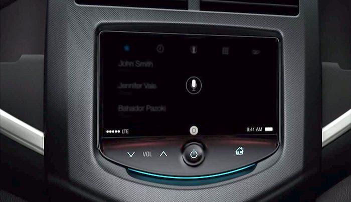 Interfaz oculta de iOS en el coche