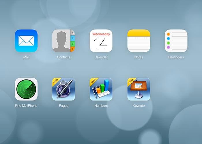 Nuevo diseño de iCloud Beta