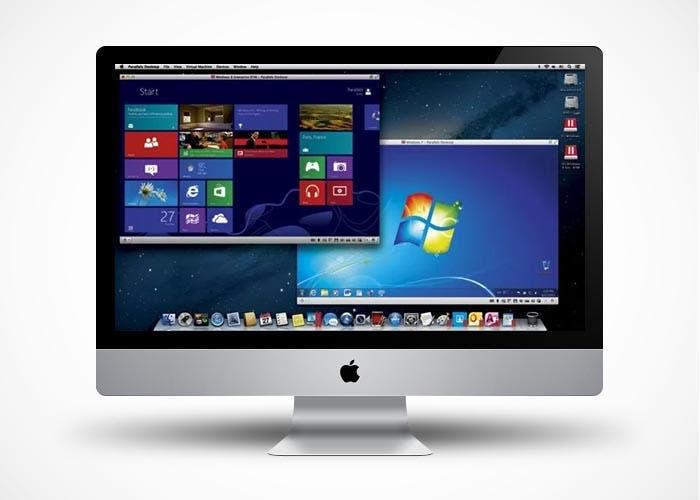 iMac con VMware y Parallels