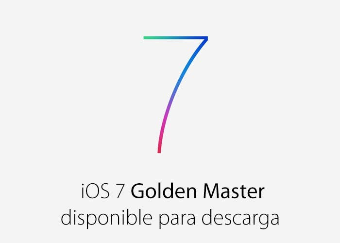 iOS 7 Golden Master