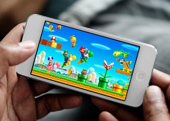 Mario Bros en el iPhone