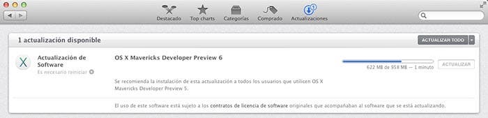 Actualizando a OS X Mavericks DP6
